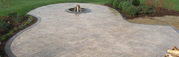Stamped Concrete Home