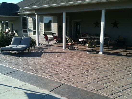 Ashlar Stone Patio in Northern NJ