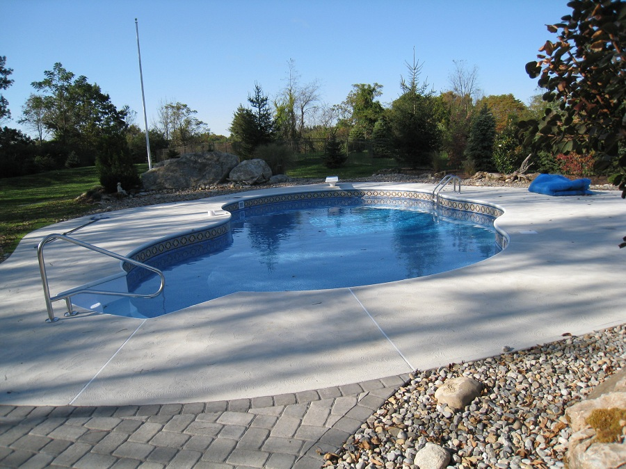 Brick and Concrete Pool Decks in North NJ