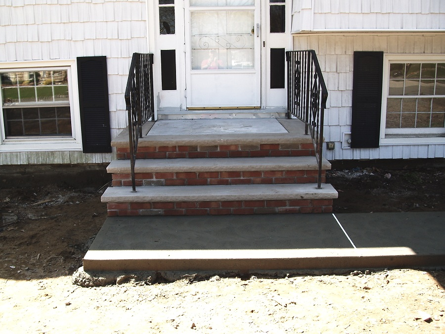 Brick and Concrete Steps in Sussex County NJ