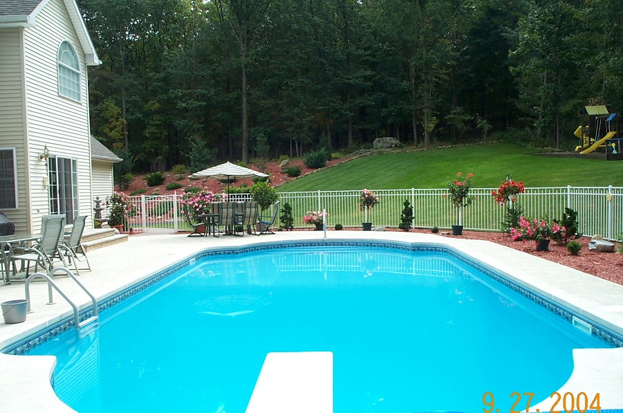 Concrete Pool Decks in Sussex County NJ