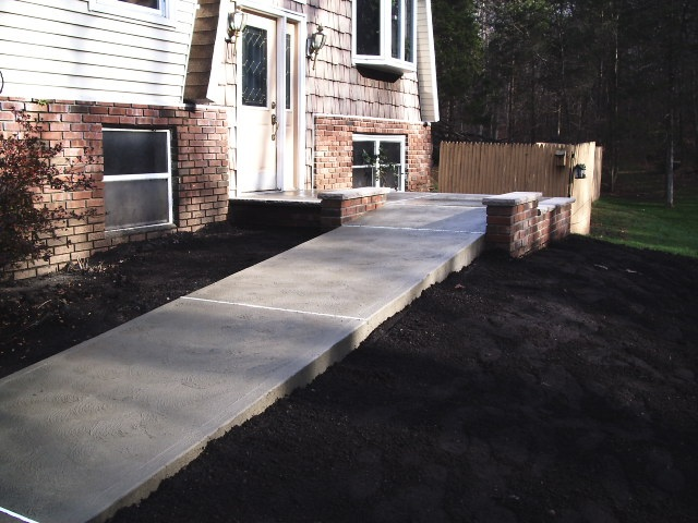 Concrete Sidewalk in Sussex County NJ