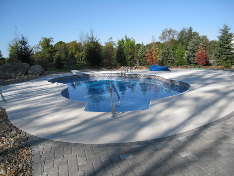 Non Slip Patios and Decks in Sussex County New Jersey
