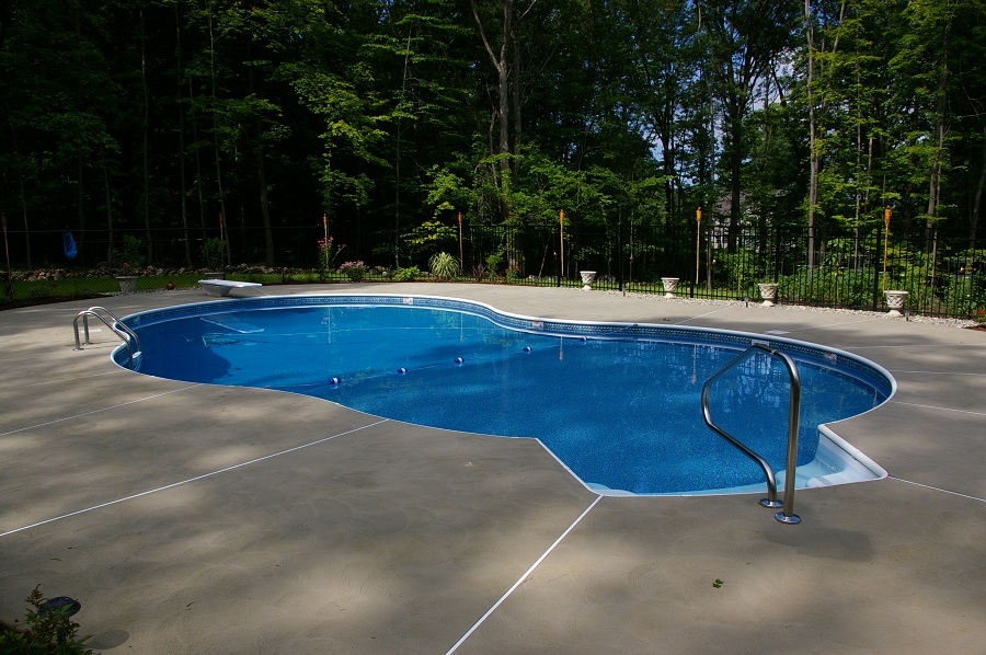 Non Slip Pool decks in Sussex County NJ