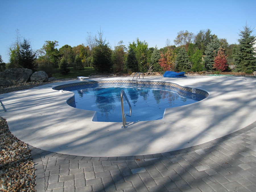 Pool deck Pavers in North Jersey