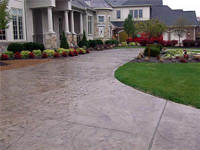 Seamless Concrete Driveway in North NJ